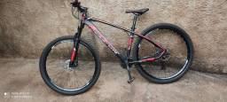 Bicicleta aro 29   24 marchas freio hidráulico