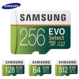Cartão de memória Samsung evo plus