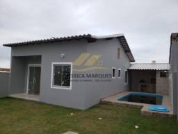 C14.3 Casa com 2 quartos sendo 1 suíte, piscina e área gourmet em Unamar - Cabo Frio - RJ