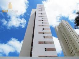 Apartamento com 3 dormitórios à venda, 95 m² por R$ 721.000,00 - Aldeota - Fortaleza/CE