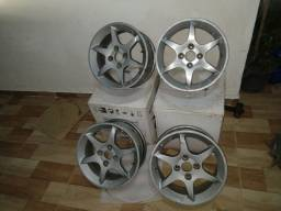 Rodas de alumínio aro 14
