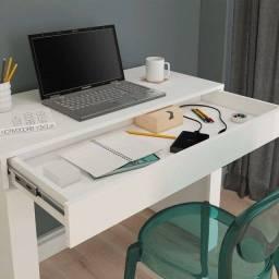 Mesa de escritório/ estudos com 1 gaveta  cleo  (pronta entrega)