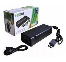 Fonte Xbox 360 Slim Video Game Bivolt 110v 220v 2 Pinos Oferta