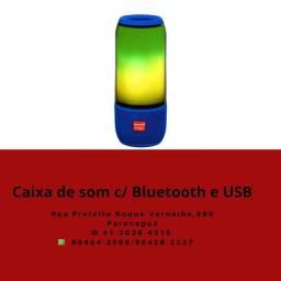 Caixa de som USB  SD e bluetooth