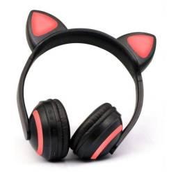 Headphone Bluetooth Gatinha