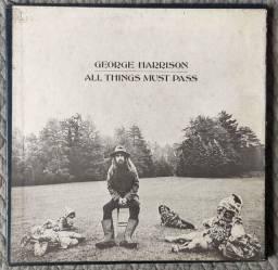 LP George Harrison Harrison- ALL things Must Pass - Box  triplo Importado
