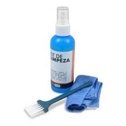 Kit De Limpeza De Telas 100ml - Limpa Telas - LCD e LED - Notebooks e Monitores