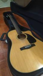 Violão Fender CD 60 CE c/ case [aceito troca menor valor]