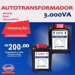 Título do anúncio: Transformador de 3.000 VA
