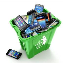 Temos descarte de aparelhos celulares