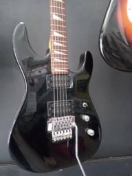 Guitarra super strato stagg na Plugmusic Petrolândia Contagem