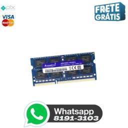 Título do anúncio: Memória RAM 8 Gb DDR3 1600 Mhz (Notebook)