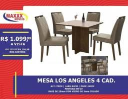 Mesas com cadeiras com ótimos preços