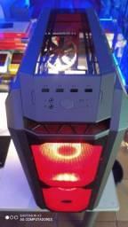 Gabinete gamer Cooler Master H500P Mesh Gunmetal