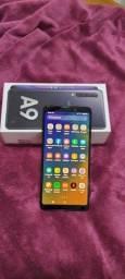 Samsung Galaxy A9 unico dono 128gb de memoria e 6 de Ram como Novo