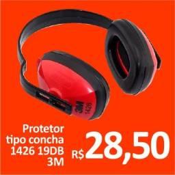 Protetor auricular tipo concha 19DB 1426 3M - Promoção R$ 28,50