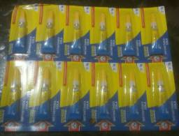Cola instantânea cartela com 12 peças...preço 11.00