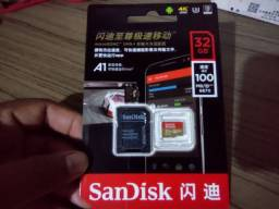 Cartão memoria sandisk extreme  32 gigas