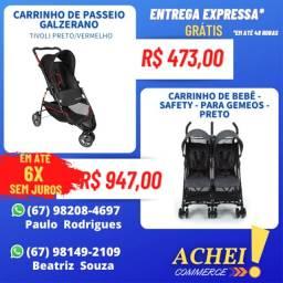 Carrinhos de Bebês _ Diversas Marcas _ Novo _ NF