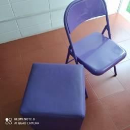 Puff e Cadeira Tok Stok