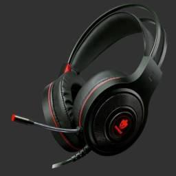 Headset Gamer Evolut Têmis Eg-301 Fone De Ouvido Red