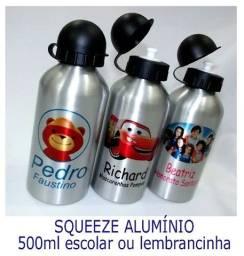 Squeezes de Aluminio Personalizada -