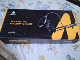 Microfone profissional condensador AU-A04 Maono