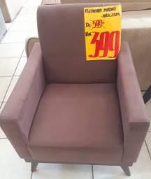Poltronas  e sofá cama