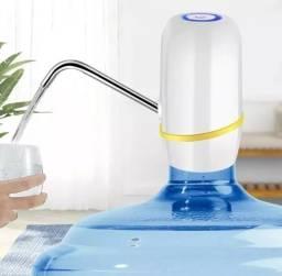 Bomba P/ Galão De Água Elétrica Recarregável - Uso Universal Branca