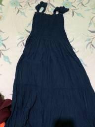 Vestido longo, usado 1x