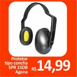 Protetor tipo concha SPR 15 DB Agena - Promoção= R$ 14,95