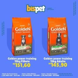 Ração GOLDEN POWER TRAINING 15kg FRETE GRÁTIS