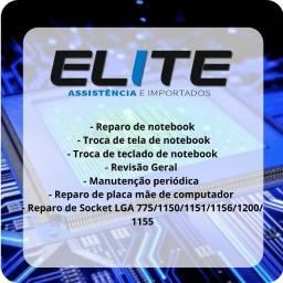 Conserto e Manutenção de Notebook