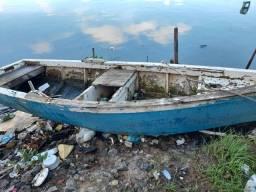 Barco com moto pra vender logo