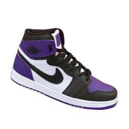 Tênis Nike Air Jordan 1 Tam 38 retrô de basquete Pinck alto OG
