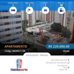 CONDOMÍNIO QUALITY HOTEL, VENDA DE APTO EM MANAUS.