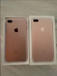 iPhone 7 plus rose 128 gigas