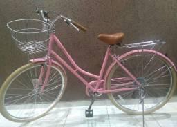 Bicicleta retrô linda