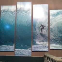 Quadro mosaico SURF
