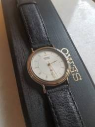 Oportunidade - Relógio Seiko Quartz ultrafino na Caixa