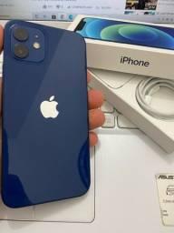 iPhone 12 64Gb azul 1 mês de uso