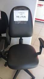 Título do anúncio: Cadeira com encosto alto - na cor preta com regulagem