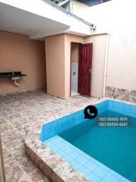 Casa com Piscina 3Q - Novo Aleixo