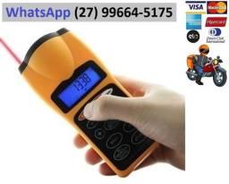 Trena Digital A Laser Medição Distância 18m a Bateria