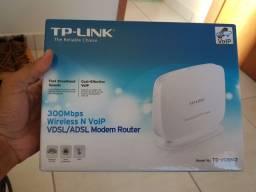 Tp-Link Modem Vdsl/Adsl Voip Roteador Td-Vg5612
