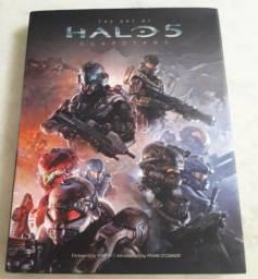 Livro Halo 5: Guardians Strategy Guide + Livro The Art Of Halo (f)