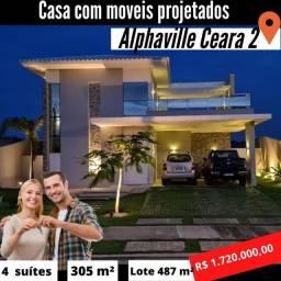 Casa no Alphaville Eusébio, Cidade alpha Ceará 2, Residencial 2 #ce11