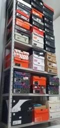 Tênis Nike, Air Jordan, Adidas, Reebok, vários modelos de basquete