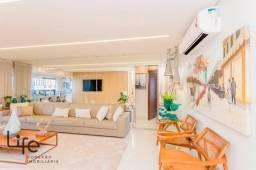 Carvalhais de Manre | Apartamento Decorado com 3 Suítes no Setor Bueno | 132m².