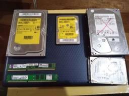 Memórias DDR3 e HD Leia